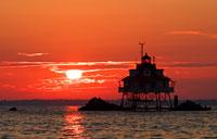 Thomas Point Sunrise: copyright Michael Land Photography
