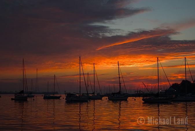 'Naptown Sunrise