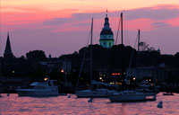 Annapolis Sunset: copyright Michael Land Photography