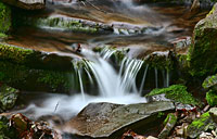 Shenandoah Waterfall: copyright Michael Land Photography