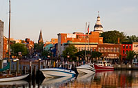 Downtown Annapolis: copyright Michael Land Photography