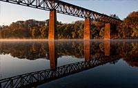 Potomac Crossing: copyright Michael Land Photography