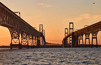 Bay Bridge Sunset: copyright Michael Land Photography