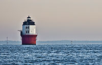 Baltimore Harbor Light: copyright Michael Land Photography