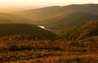 Blue Ridge Vista: copyright Michael Land Photography