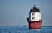 Baltimore Harbor Light II: copyright Michael Land Photography