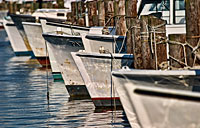 Workboat Row II: copyright Michael Land Photography
