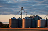 Silos: copyright Michael Land Photography