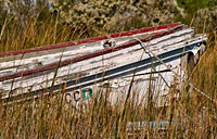 Smith Island Skiff: copyright Michael Land Photography