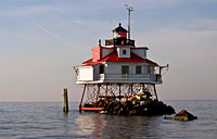 Thomas Point Light II: copyright Michael Land Photography