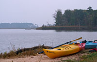 Kayaking Eastern Neck: copyright Michael Land Photography