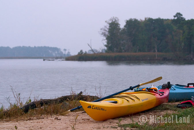 Kayaking Eastern Neck