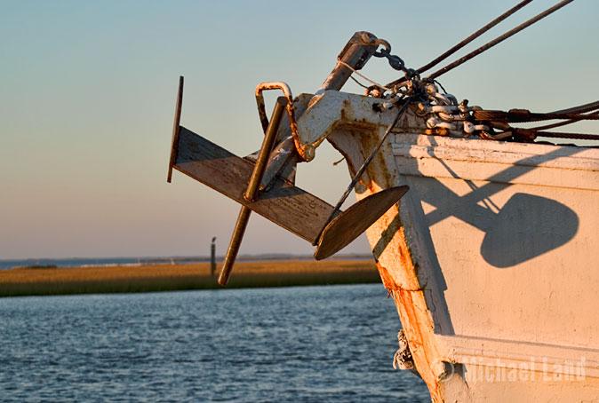 Sunset Trawler