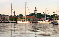 Annapolis Skyline: copyright Michael Land Photography